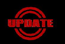 4-1-2020 Important Updates!